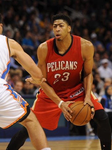 Anthony Davis had 38 points, 12 rebounds and three