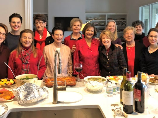 Book Club –  Sabrina Koleilat opened her lovely home