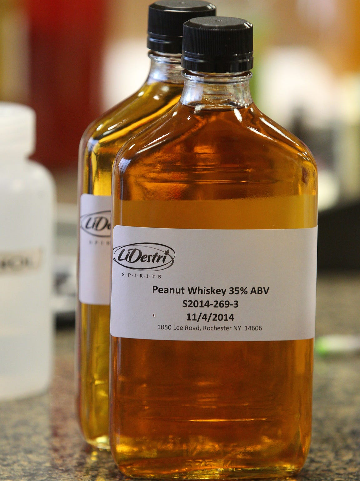 One of the trial flavors made by the LiDestri Spirits