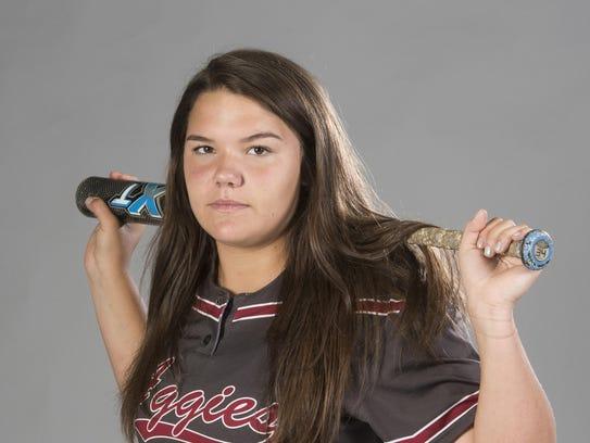 Shelby Ullrich, Tate Softball Hitter