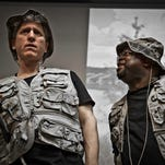 """Larry Jay Tish, left, and Ron Jones perform """"The Black-Jew Dialogues."""""""