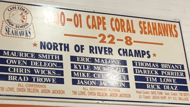 It's been 16 years since Cape Coral High won a boys basketball district title.