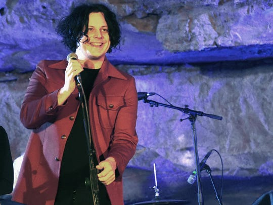 Jack White hosts the Tennessee Tourism & Third Man Records 333 Feet Underground at Cumberland Caverns on Sept. 29, 2017, in McMinnville, Tenn.