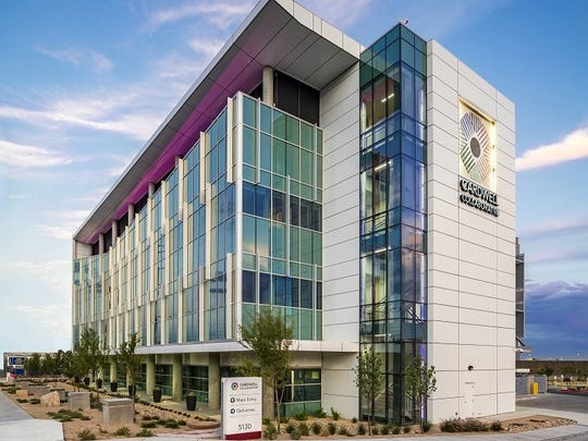 The Medical Centers of America's Cardwell Collaborative biomedical research building won an award from the Southeast Building Conference.