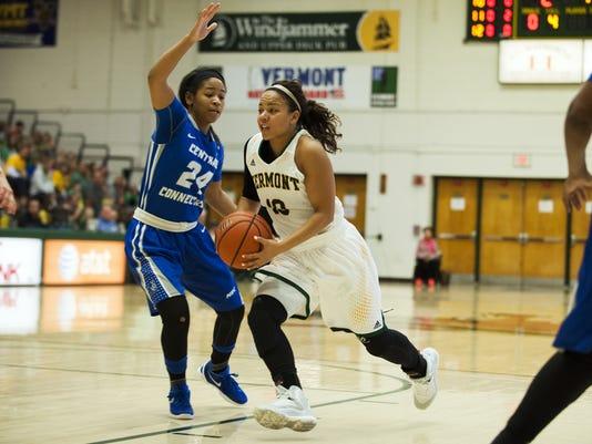 Central Conneticut vs. Vermont Women's Basketball 11/13/15