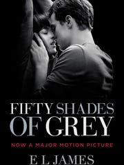 The movie tie-in edition of 'Fifty Shades of Grey.'