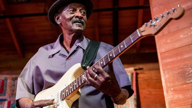 Blues guitar legend Lil Buck Sinegal performs at 10 p.m. Saturday at Artmosphere.