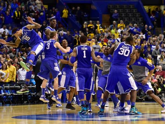 Kentucky Basketball 2014 Team Kentucky  Tennessee will join