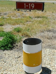 Reflectors on the taxiway at the Yerington Airport will be replaced as part of a repaving project.