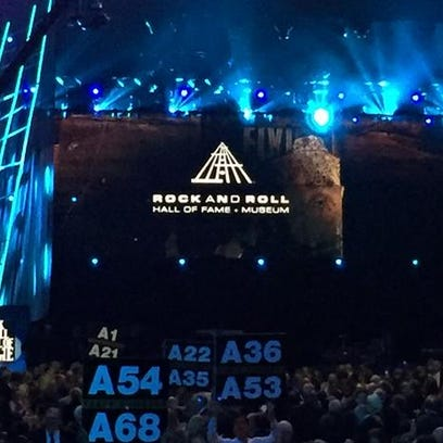 Inside the Rock and Roll Hall of Fame 2015 induction