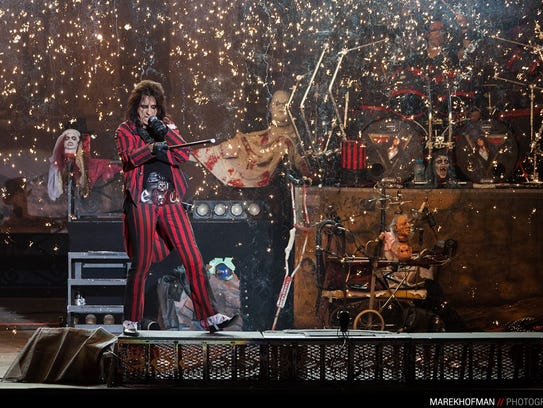 Alice Cooper will perform May 11 at Shreveport Municipal