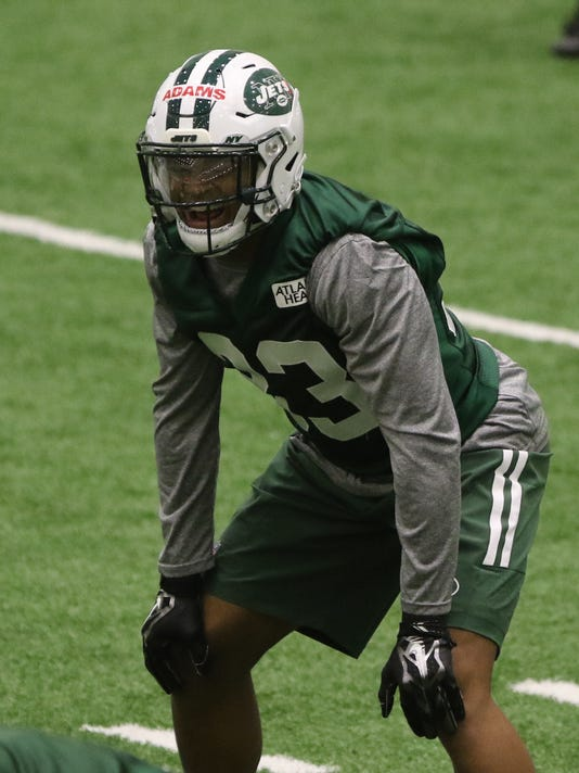 The New York Jets Rookie Camp.