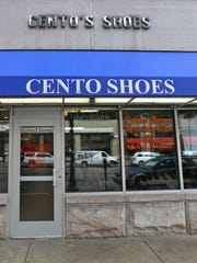 Cento Shoes at 33 S. Meridian St., in 2015.