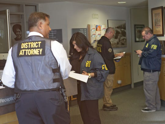 A public corruption task force made up of the FBI,