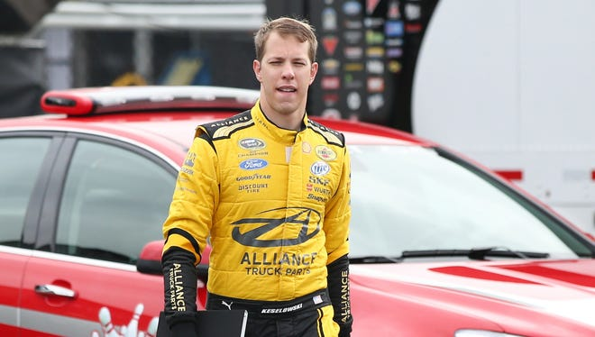 Brad Keselowski says it was a cool experience to meet the President after winning the 2012 NASCAR Sprint Series championship.