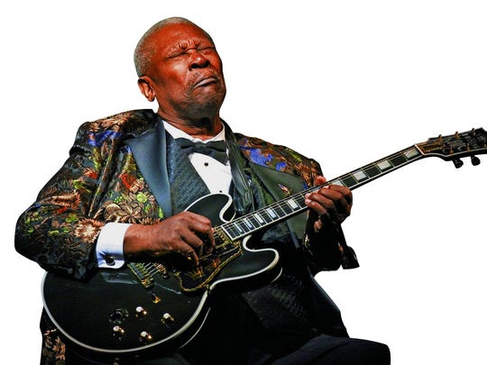 Blues legend B.B. King died in 2015. His life, his