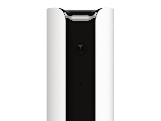 The Canary indoor all-in-one-home security device includes