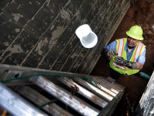 sewer tap Lead Art