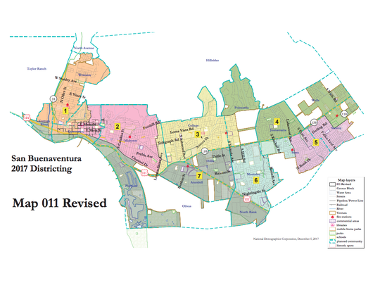 Ventura approved Map 11 on Monday night.
