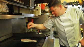 Chef Jamie Knott at Saddle River Inn,