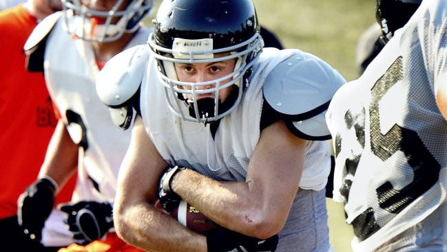 Northeastern running back Kody Reeser and his teammates have a District 3-AAA quarterfinal game on Friday. Tickets for the game are on sale at the school.