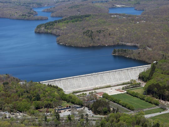 Kensico Reservoir and Dam.