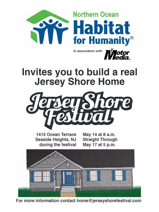 You Can Help Build A House In Seaside Heights