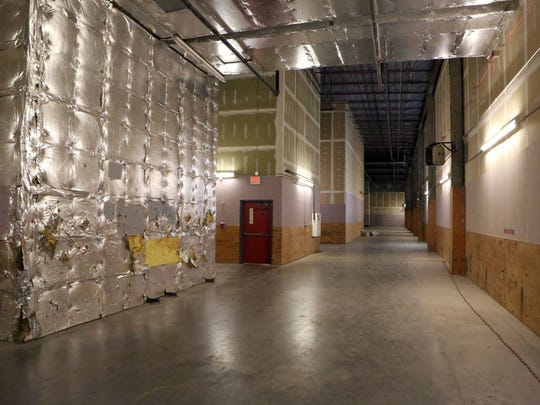 Unused corridor space on the fourth floor of the Palisades