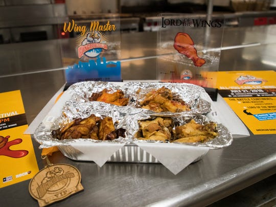 The American Bank Center arena and will feature more than 15 Corpus Christi restaurants' best wings as they compete for the titles Lord of the Wings and Wing Master.