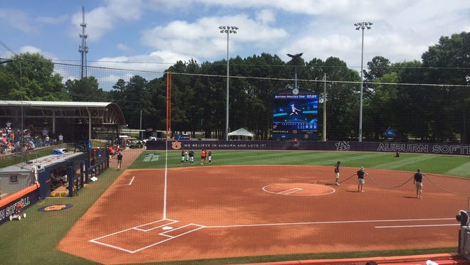 Auburn and South Alabama play in a winner's bracket NCAA Regional game Saturday.