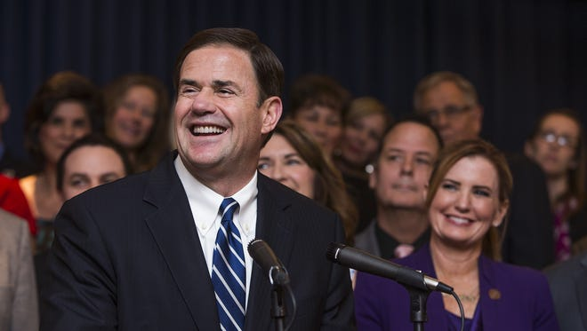 Gov. Doug Ducey said Monday that he didn't understand why a teacher group was organizing a walk-out this week, despite his best efforts to pusha plan that would give across-the-board 20 percent raises by the year 2020.