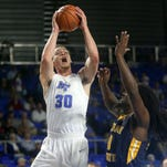 Blue Raiders overcome slow start, top Murray State