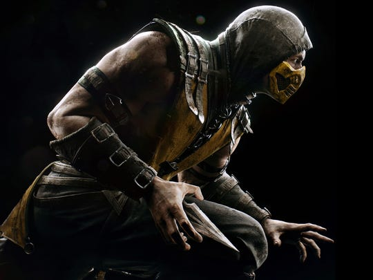 "Fatalities and over-the-top fighting action return once again in ""Mortal Kombat X."""