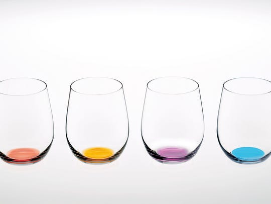 These Riedel Happy O Vol. 2 crystal tumblers are an