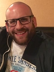David Fredrick, 34, of San Jose, Calif., is a strong supporter of Sen. Bernie Sanders and helped promote him on Reddit even before Sanders announced his presidential bid.