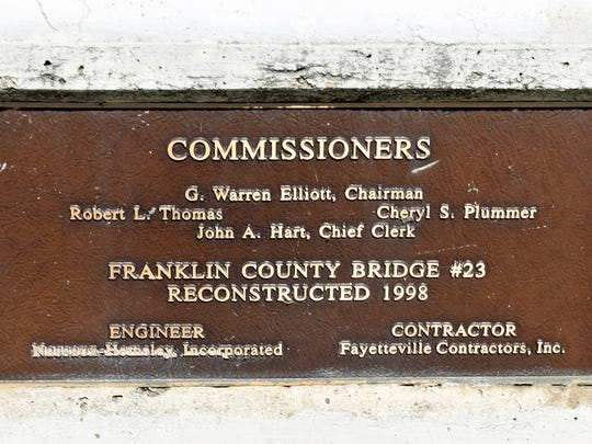The Tallow Hill Road bridge near the Loop Road intersection at the Conococheague Creek will be closed for a week starting Monday, August 8 while crews repair a crack just below the center joint of the concrete guardrail.