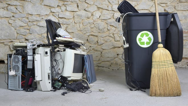 While you are doing your spring cleaning it is important to know what you can and can't recycle.