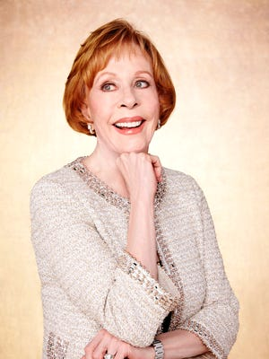 Carol Burnett will receive the Life Achievement Award at the Screen Actors Guild Awards ceremony Saturday.
