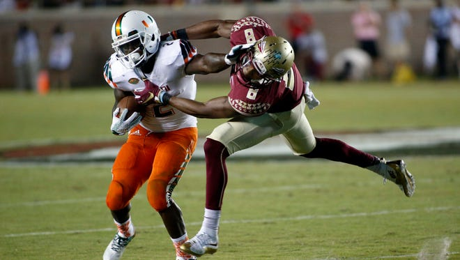 Jalen Ramsey and the FSU secondary gave up over 400 passing yards to Brad Kaaya and the Hurricanes.
