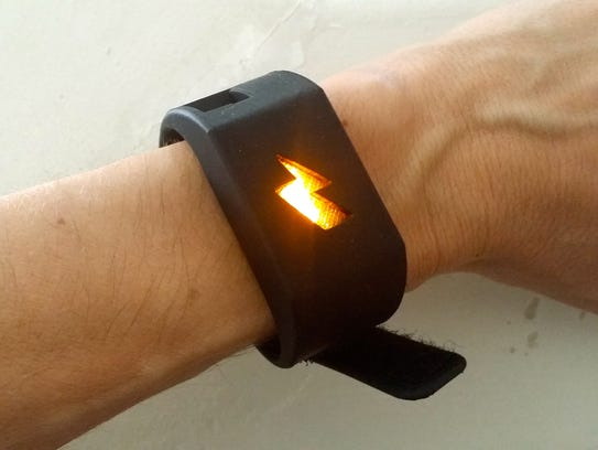 The Pavlok device will send you shocks when you perform