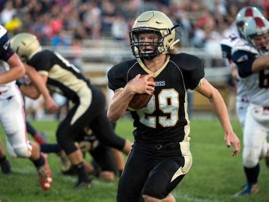 Delone's Ryan Hart has been effective as a runner,