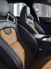 To get Recaro bucket seats, you give up front-seat