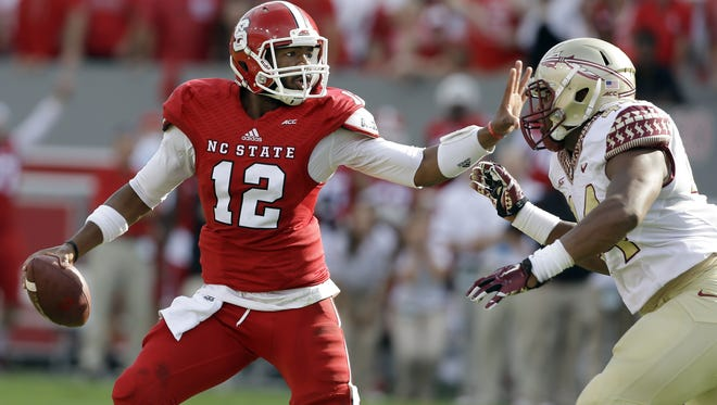 NC State quarterback Jacoby Brissett has made the most of his time with the Wolfpack.