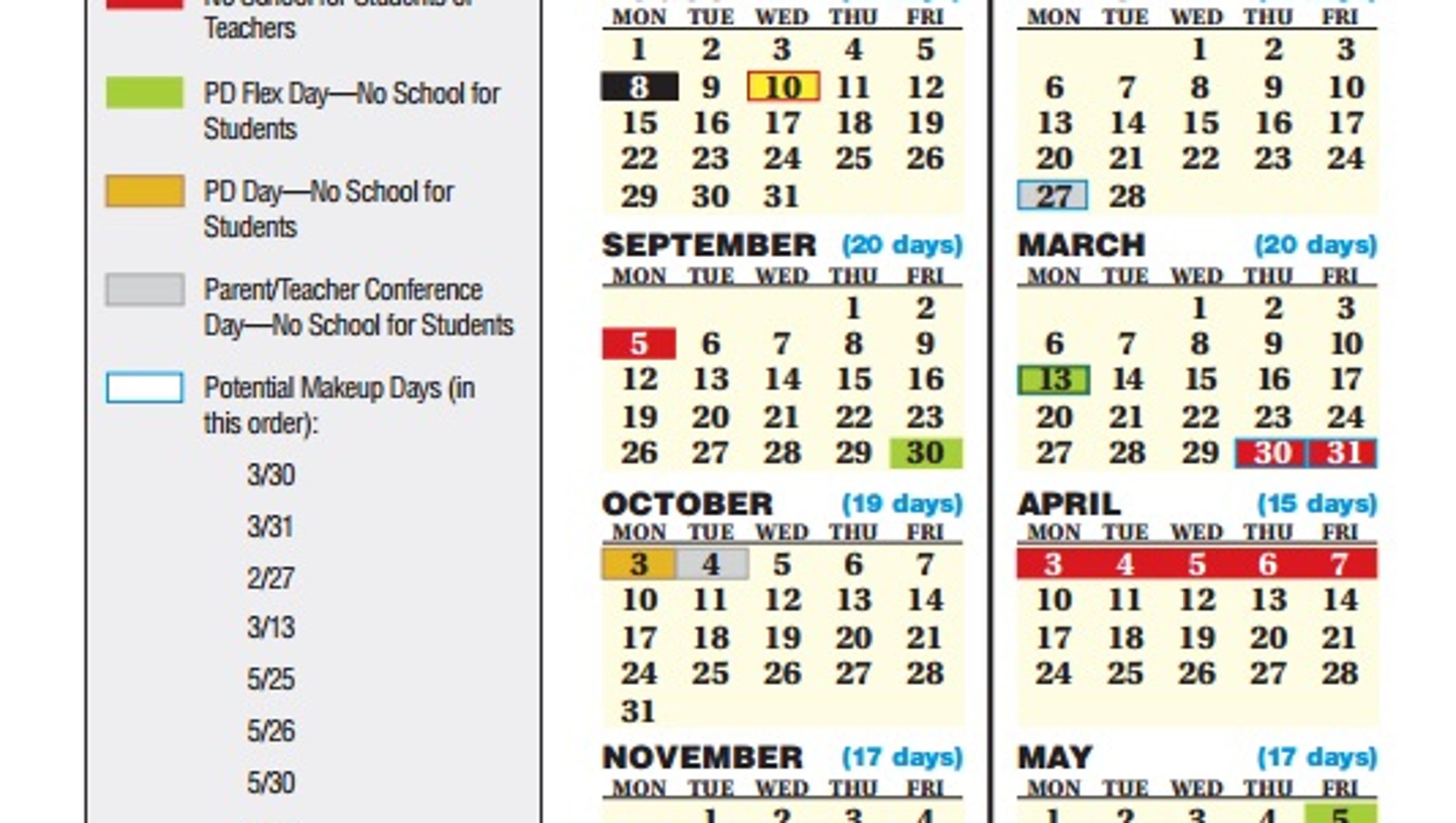Jcps Board Oks 2016 2017 School Calendar