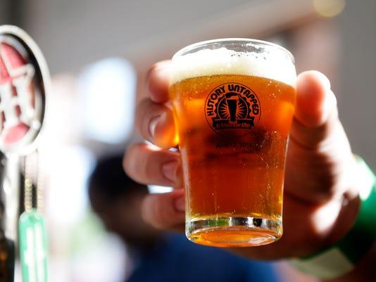 Liquid Hero Brewery Pint