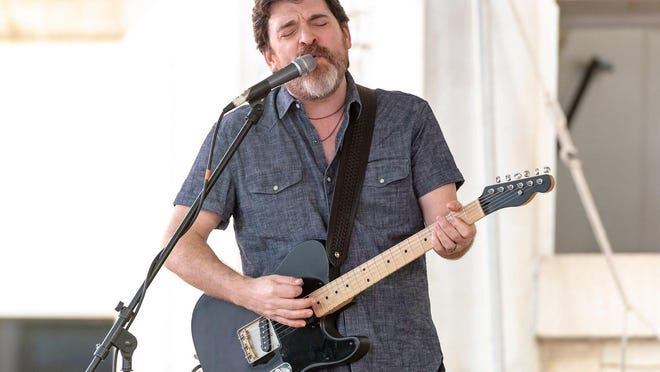 Austin musician Jeff Plankenhorn, shown here playing at Round Rock's Music on Main series in 2019, has been doing multiple weekly livestream shows during the coronavirus pandemic.
