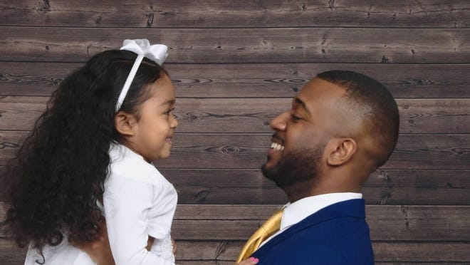Vashaad Randolph, a single father who lives in Newark, said he's trying to find a wife, friend, business partner and stepmother to his 4-year-old daughter A'Miyah.