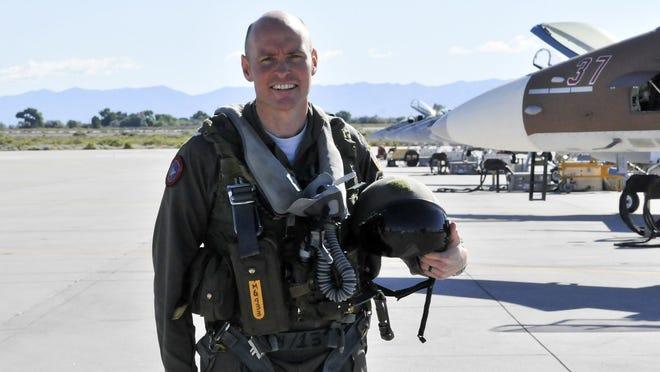 Tim Myers, a 1996 Boylan graduate, is the commanding officer of TOPGUN.