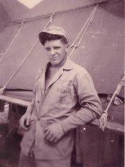 Junior Howell during World War II.