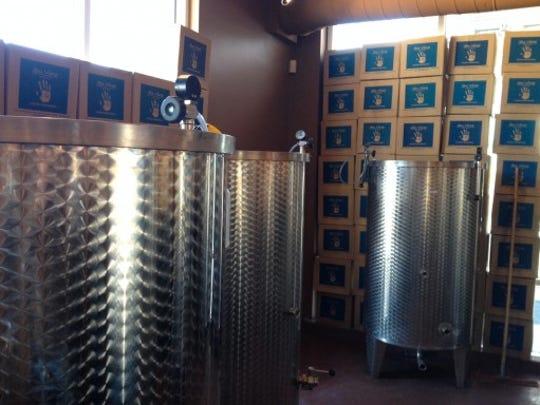Su Vino Winery in Scottsdale.